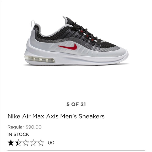 Nike Nike Air Max Axis Premium Women's Sneakers, Size: 8.5, White from Kohl's   ShapeShop